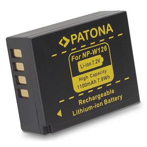 Patona NP-W126 1020mAh baterija za Fujifilm Fuji  X-E1, X-E2, X-M1, X-T1, X-A1, X-Pro1, HS30EXR, HS33EXR