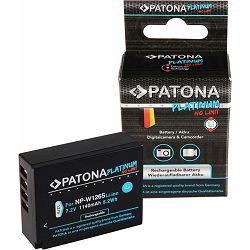 Patona NP-W126S Platinum 1140mAh 8.2Wh 7.2V baterija za Fujifilm NP-W126 za Fuji X-T10, X-T2, X-A2, X-E1, X-E2, X-M1, X-T1, X-A1, X-Pro1, HS30EXR, HS33EXR