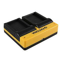 Patona punjač za Canon LP-E17 bateriju Dual Quick-Charger (LC-E17, EOS 750D, 760D, M3, Kiss X8i, Rebel T6i, Rebel T6s, T6i, T6s)
