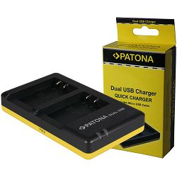 Patona punjač za Canon LP-E17 Dual Quick-Charger USB LC-E17, EOS 750D, 760D