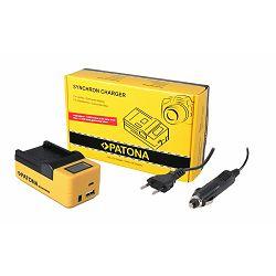 Patona punjač za GoPro HERO5 AABAT-001 bateriju Synchron USB LCD Charger (AABAT-001, AHDBT-501, AABAT-00 AHDBT-5)