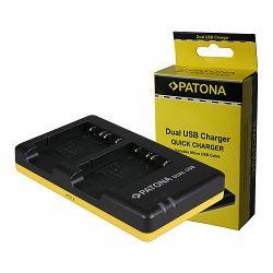 Patona punjač za Sony NP-BG1 bateriju Dual Quick-Charger (Cyber-shot DSC H55, DSC H70, DSC H90, DSC HX10V, DSC HX20V, DSC HX5V, DSC HX7V, DSC HX9V, DSC WX1, DSC WX10)