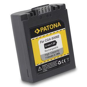Patona S-006 baterija za Panasonic LUMIX DMC-FZ50, FZ7, FZ8 CGR-S006