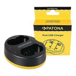 Patona USB Dual Charger punjač za Godox VB20 V350s