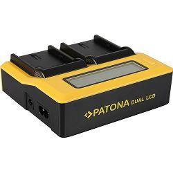 Patona USB LCD Dual Charger punjač za Canon LP-E6 LP-E6N LPE6 EOS R, EOS RP, EOS 5D IV, 6D II, 80D, 7D II, 6D, 70D, 5D III, 60D, 60Da, 7D