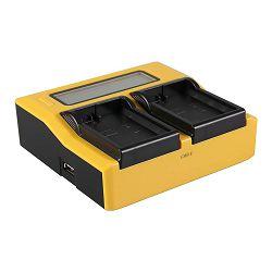 Patona USB LCD Dual Charger punjač za Nikon EN-EL14 D5600, D5500, D5300, D5200, D5100, D3400, D3300, D3200, D3100, Df, Coolpix P7800, P7700, P7100, P7000