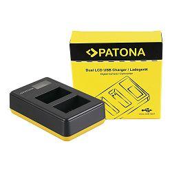 Patona USB LCD Dual Charger punjač za Sony NP-FW50 NPFW50 NEX-C3 NEX-7 NEX-7B NEX-7C NEX-7K NEX-C3 Alpha 7 5000 5100 6000 A33 A55 A35 A37 ILCE QX1 NEX-3N NEX-5R NEX-6 NEX-F3 Cyber-shot RSC-RX10