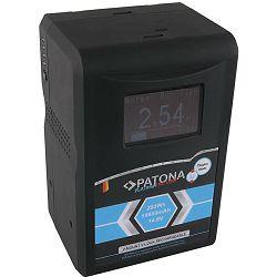 Patona V-Mount Platinum LCD 19800mAh 293Wh 14.8V baterija za Red Arri Sony DSR 250P 600P 650P 652P HDW 800P PDW 850 BP-150w BP150w, BPFL75, BP-FL75, BPFLX75, BP-FLX75, BPL40A, BP-L40A, BPL60, BP-L60