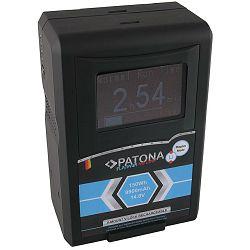 Patona V-Mount Platinum LCD 6621mAh 98Wh 14.8V baterija za Red Arri Sony DSR 250P 600P 650P 652P HDW 800P PDW 850 BP-150w BP150w, BPFL75, BP-FL75, BPFLX75, BP-FLX75, BPL40A, BP-L40A, BPL60, BP-L60