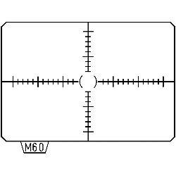 Pentax AF Scale Matte MI-60 Focusing Screen