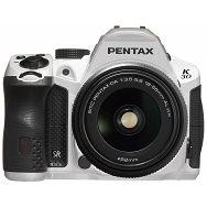 Pentax K-30 white + 18-55mm WR