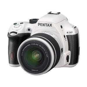 Pentax K-50 White + DAL 18-55 WR