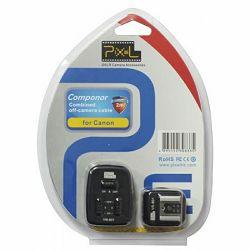 Pixel Componer TTL Set PF-801 komplet bežičnih okidača odašiljač + prijemnik za Canon bljeskalice Speedlite Flash Guns