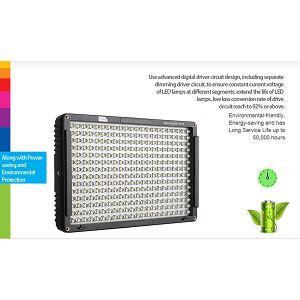 Pixel Sonnon DL-913 Dimmable LED Lamp panel rasvjeta za video snimanje