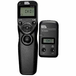 Pixel TW-283 E3 (C1) za Canon bežični timer timelapse radijski okidač EOS 80D 70D 60D 77D 800D 750D 700D 650D 600D 550D 500D 450D 350D 1300D 1200D 1100D 1000D 250D 200D 100D 2000D T4i T3i T2i T1i Xsi