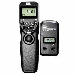 Pixel TW-283 S1 za Sony bežični timer timelapse radijski okidač a900, a850, a700, a580, a560, a550, a500, a450, a350, a300, a200, a100, SLT a99, a77, a65, a57, a55, a37, a35, a33 Shutter Release