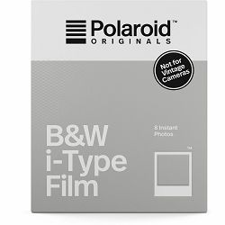 Polaroid Originals B&W Film for I-TYPE Cameras (batteryless) papir za crno-bijele fotografije za Instant fotoaparate (004669)