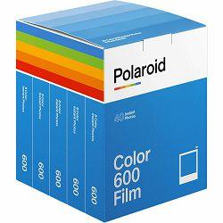 Polaroid Originals Color film for 600 x40 film pack foto papir za fotografije u boji za Instant fotoaparate (006013)
