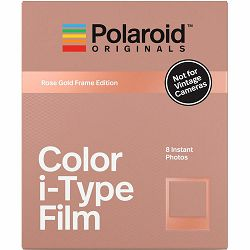 Polaroid Originals Color Film for i-Type Rose Gold Frame foto papir za fotografije u boji za Instant fotoaparate (004832)