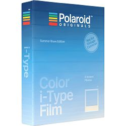 Polaroid Originals Color Film for i-Type Summer Blue foto papir za fotografije u boji za Instant fotoaparate (004927)