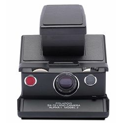 Polaroid Originals SX-70™ Camera Black-Black Instant fotoaparat s trenutnum ispisom fotografije Refurbished camera (004696)