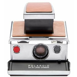 Polaroid Originals SX-70™ Camera Silver-Brown Instant fotoaparat s trenutnum ispisom fotografije Refurbished camera (004695)