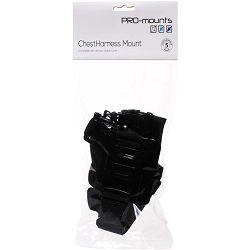 PRO-mounts ChestHarness Mount prsni nosač za GoPro akcijske kamere