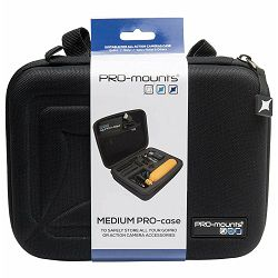 PRO-mounts Pro Hard Case Medium torbica za GoPro akcijske kamere