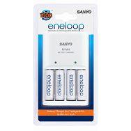 Sanyo Eneloop MQN04-E-4-3UTG punjač + 4xAA punjive baterije ready to use