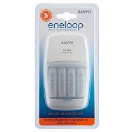 Sanyo Eneloop MQN09-E-4-3UTG LED punjač + 4xAA punjive baterije ready to use