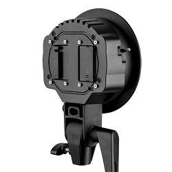 Quadralite Reporter 200 Twin Head S holder držač nosač softboxa i dvostruke bljeskalice