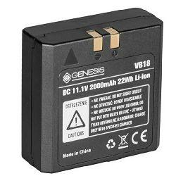 Quadralite Stroboss VB-18 2000mAh Li-ion battery baterija za bljeskalicu Stroboss 58 i 60 seriju