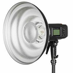 Quadralite Wave Beauty Dish Silver 55cm srebreni radar za studijske bljeskalice