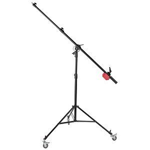 Quantuum S BOOM ARM stalak 210cm 4m studijski stativ s utegom i rotama studio light stand žirafa