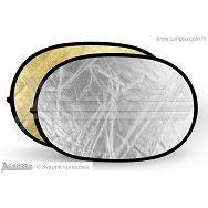 Quantuum dosvjetljivač 2u1 120x180cm zlatni srebreni reflektirajući