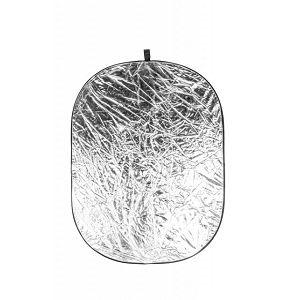 Quantuum dosvjetljivač 2u1 95x125cm bijeli srebreni reflektirajući 95x125cm
