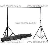 Quantuum držač pozadine 260cm x 300cm AIR zračna amortizacija + torba