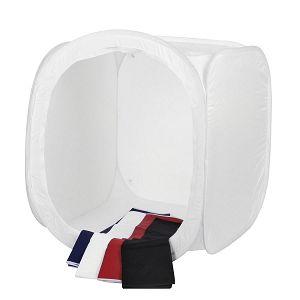 Quadralite fotografski šator 120x120x120cm bijeli transparentni light cube 120x120