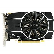 R7 260X 2G GDDR5 PCI-E HDMI / DVI-I / DP OC VERSION, 1050MHz / 1500MHz, 128-bit,2 slot active, LITE