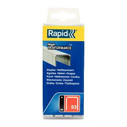 Rapid No. 53 Finewire staple 6mm punjenje za klamericu 53/6mm 5000 komada