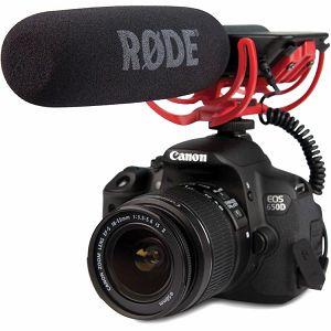 Rode VideoMic with Rycote Lyre Suspension System Mikrofon za DSLR fotoaparate i kamere
