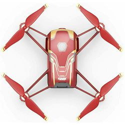 Ryze Tech Tello Iron Man Edition powered by DJI Quadcopter Flight tech dron s kamerom za snimanje iz zraka 13min, 100m, 720p (CP.TL.00000002.01)