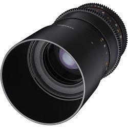 Samyang 100mm T3.1 VDSLR ED UMC Macro objektiv za Fuji Fujifilm X-mount