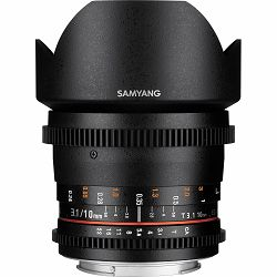 Samyang 10mm T3.1 VDSLR ED AS NCS CS objektiv za Canon