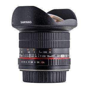 Samyang 12mm f/2.8 ED AS NCS Fisheye objektiv za Nikon FX Full Frame Fish-eye prime lens 1:2.8 F2.8 2.8
