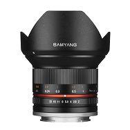 Samyang 12mm F2.0 NCS CS (Black) Lens for Fuji ultra širokokutni objektiv za Fujifilm X-Mount