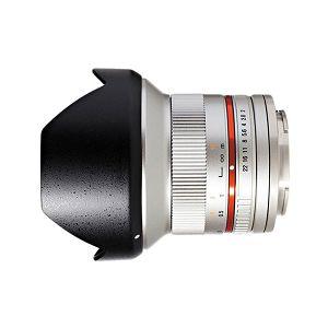 Samyang 12mm F2.0 NCS CS (Silver) Lens for Fuji ultra širokokutni objektiv za Fujifilm X-Mount