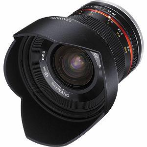 Samyang 12mm F2.0 Olympus m4/3 mirrorless (Black)