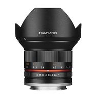 Samyang 12mm F2.0 Samsung NX (Black)