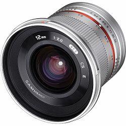 Samyang 12mm f/2 NCS CS Silver ultra širokokutni objektiv za Samsung NX